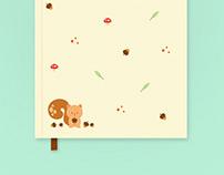Nutty's Adventure - Stationery Set