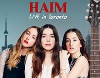 Haim Poster