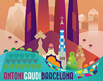 Gaudi's Barcelona. Personal Project/Print