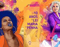 Facebook Canvas l Os 10 anos da lei Maria da Penha