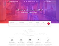 Website Design For Luggage Transfer Delivery Service