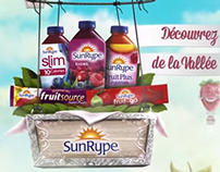 Sunrype Lands in Quebec