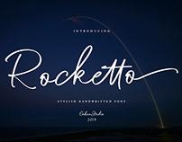 ROCKETTO - STYLISH HANDWRITTEN FONT