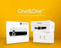 One&One projector packaging