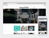 Hashtags & Coffee Brand and Website