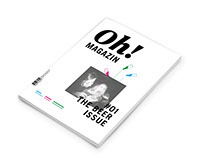 Oh! Magazin Publikationsdesign