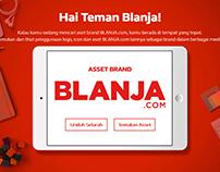 BLANJA.COM Landing Page