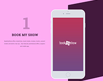 BOOK MY SHOW UI DESIGN STUDY