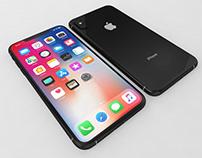 3D model Apple iPhone Xs Max