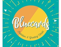 Bluecards, Invitation and Greeting Cards Templates Pack