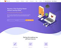 Gitlab Marketing Landing Page Concept