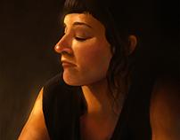 Portrait of Madame Milton