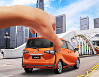 Toyota Create Your Own Drive Social