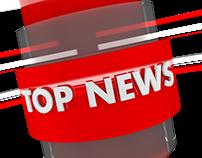 #MOTION GRAPHICS #News Intor #Cinema 4d