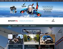 Rexona page layout