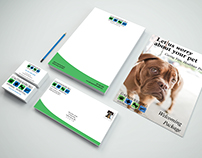 Gaithersburg Animal Hospital Branding Package