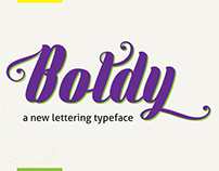 The FREE Boldy Typeface