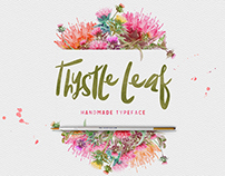 Thystle Leaf Typeface