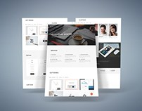 Cluster – Free Creative Bootstrap Template