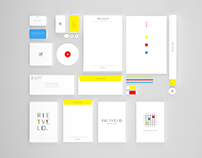 Rietveld Design Studio - De Stijl Inspired Branding