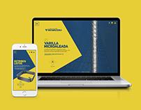 Microsite - Varilla Microaleada