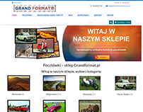Grandformat - shop with postcards