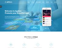 Appbox Responsive App Landing Template