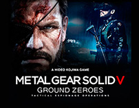 Minisite Metal Gear Solid V