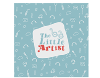 The little Artist | kids art campaign