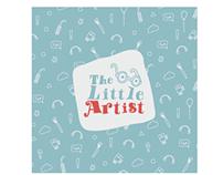 The little Artist | kids art campaign