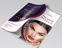 Beauty Tri-Fold Design.
