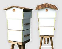Newbees - flatpack beehive