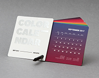 The Color Calendar