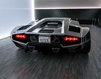 KARRBON SERIES 01   Lamborghini Countach   CGI   PT. 2