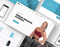 HG Fitness Web Design