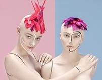 Living doll for Elegant magazine retouch