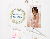 Floral Baby Shower Products