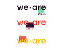 WE ARE content creators redesign