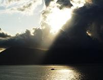 Clouds over La Spezia's gulf
