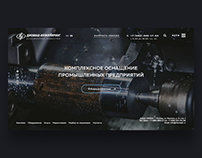 Diomash Engineering / Design corporate website / UI