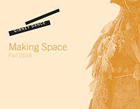 Making Space Postcards - Gibney Dance