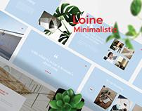 Loine - Fashion & Minimal Presentation Template