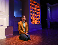 Buyer and Cellar - Set and Projection Design