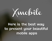 X-MOBILE Mobile App WordPress LandingPage