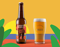 MONYO craft beer brewery rebranding