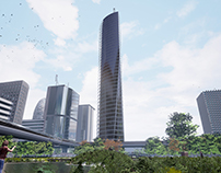 Project of new district in Sao Paulo