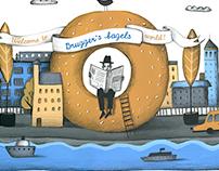 Brugger's bagels