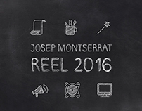 Josep Montserrat - Motion Graphics Reel 2016
