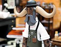 SH Barber Black Jack
