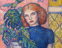 Рыжая/ The girl with red hair